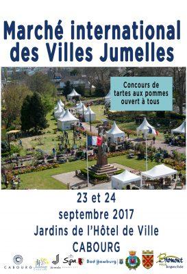 Marché des villes jumelées à Cabourg @ Jardins de l'hotel de ville | Cabourg | Normandie | France